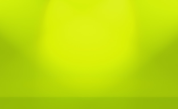 Green gradient abstract background empty room with space for your text and picture.