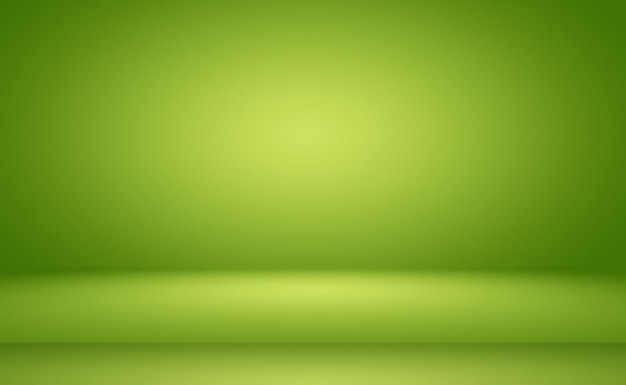Green gradient abstract background empty room with space for your text and picture