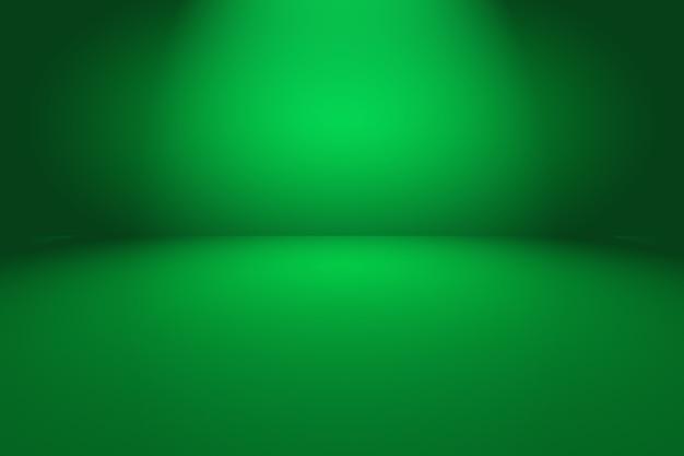 Зеленый градиент абстрактный фон пустая комната