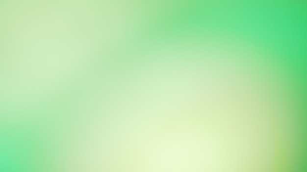 Green gradient defocused abstract smooth lines color background
