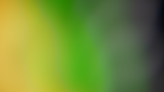 Green gradient defocused background