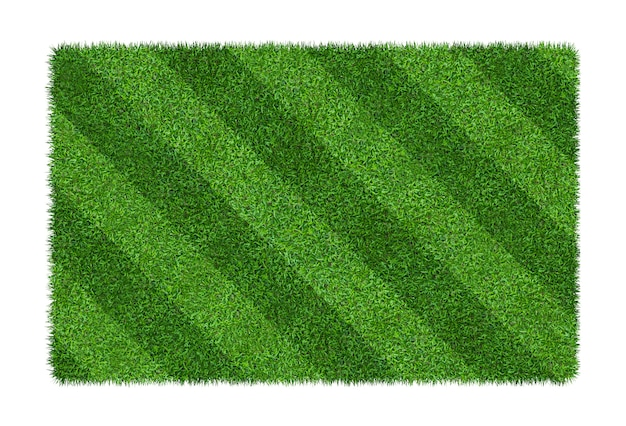 Green grass texture background for soccer and football sports.
