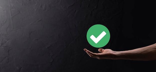 Green icon check mark,check mark sign, tick icon,right sign,circle green checkmark button,done