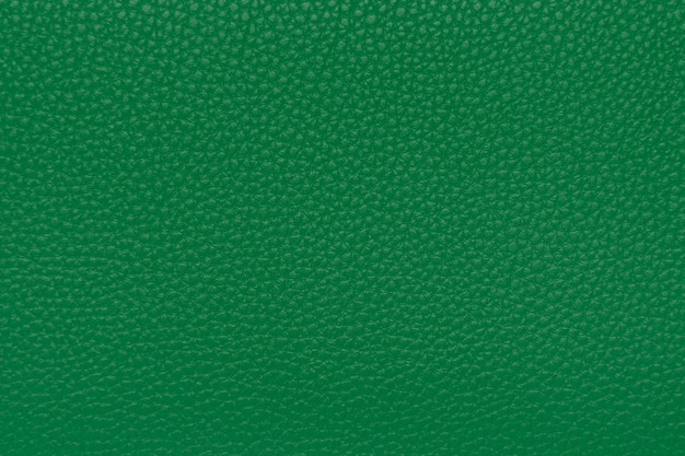 Green leather texture, background, wallpaper