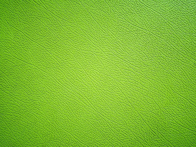 緑の革のテクスチャ背景