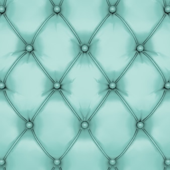 Green leather upholstery background