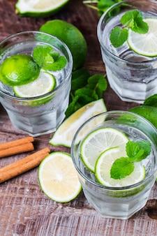 Green lemon juice