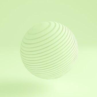 Зеленый свет абстрактный фон. 3d иллюстрации, 3d-рендеринг.