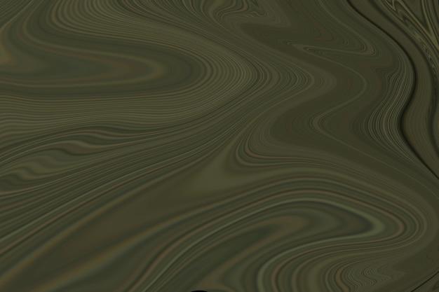 Зеленый жидкий мрамор фон абстрактные плавные текстуры экспериментальное искусство