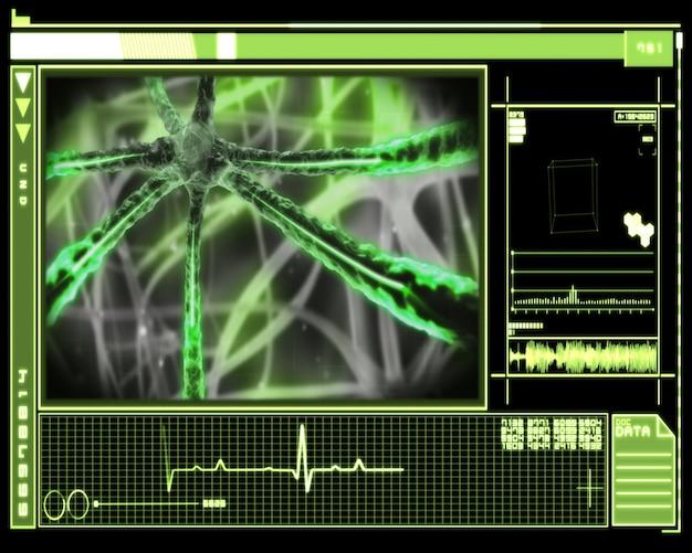 녹색 현미경 기술