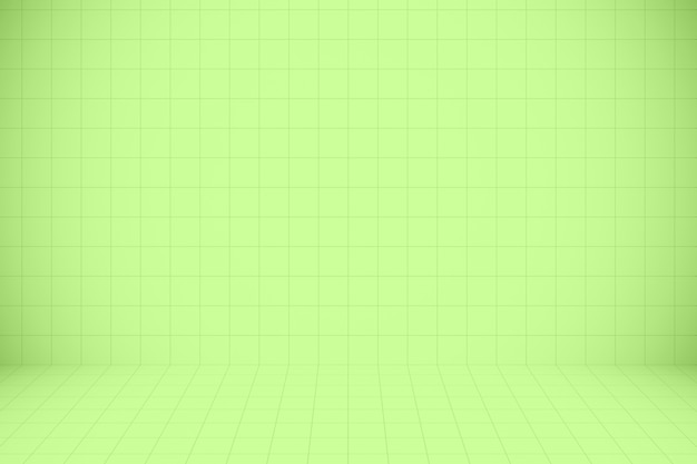 Green mosaic pattern and texture background for design artwork.