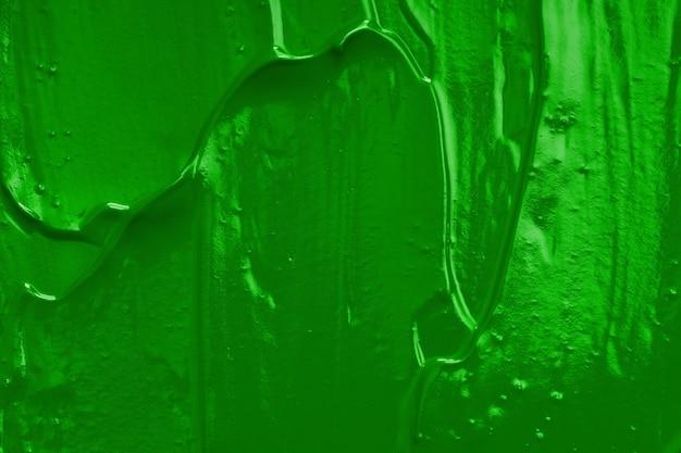 녹색 오일 페인트입니다. 디자이너의 배경