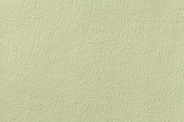 Green olive leather texture background , closeup