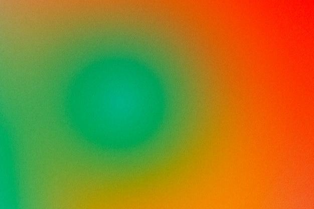 Зеленый оранжевый и красный абстрактный градиент текстуры фона