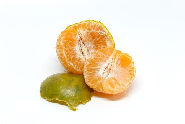 녹색, 오렌지 껍질