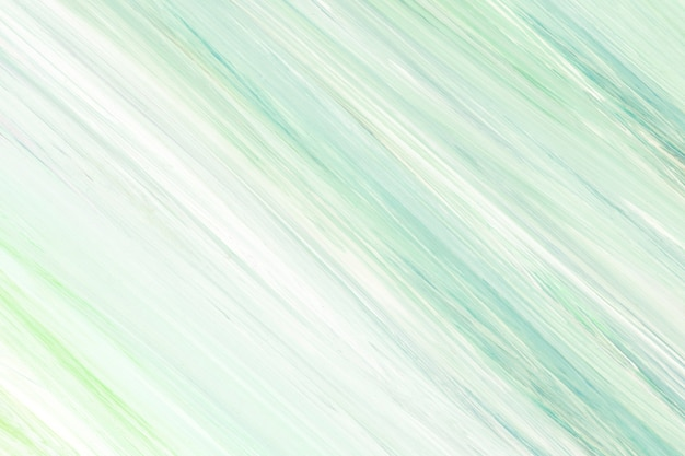 Green paint on canvas