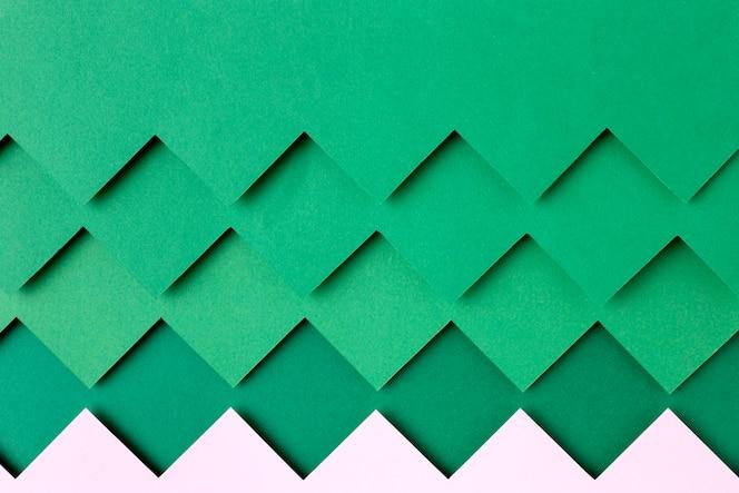 녹색 종이 모양 배경 스타일