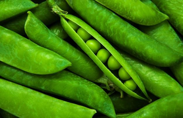 Green peas - background