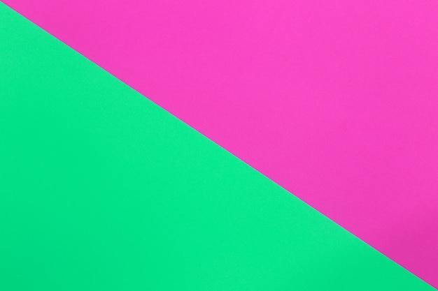 Green and pink of cardboard art paper.
