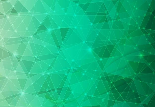 Зеленый многоугольник