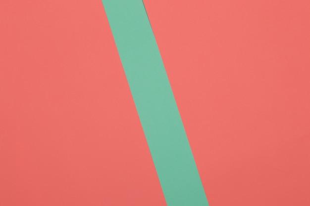 녹색, 빨간색 배경, 색종이는 기하학적으로 영역, 프레임, 복사, 공간으로 나눕니다.