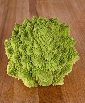 Green romanesco cauliflower