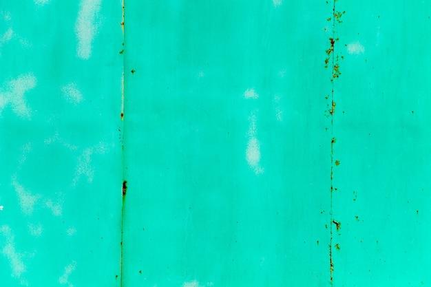 Зеленая ржавая металлическая текстура. абстрактный гранж-фон