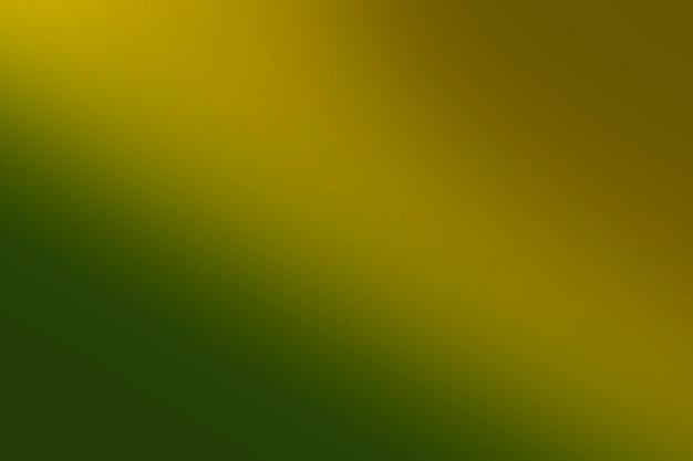 Green shades in gradation