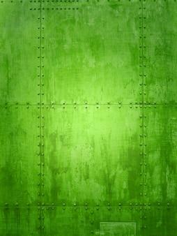 Зеленая текстура пластины корабля идеально подходит для фона