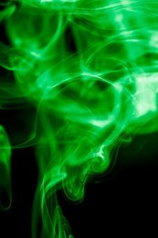 Green smoke.
