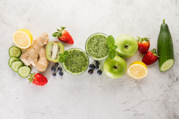 Green smoothie collection