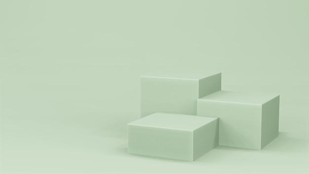 녹색 무대 연단