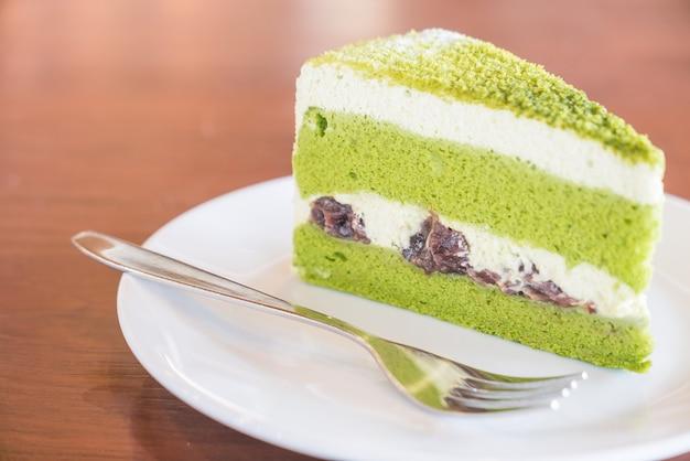 Green tea cakes