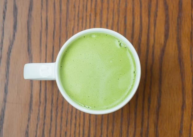 Latte di tè verde