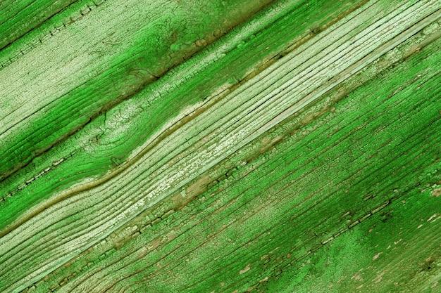 木の板の緑の質感上面図