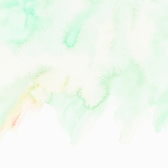 Green textured hand painted background