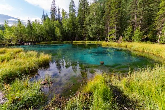 The green thermal lake