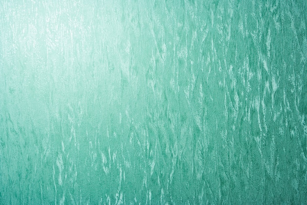 Green wall paper textured  background