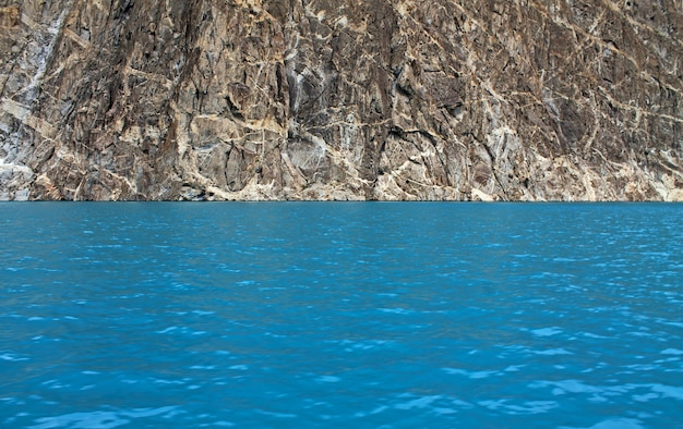 Green water view in attabad lake