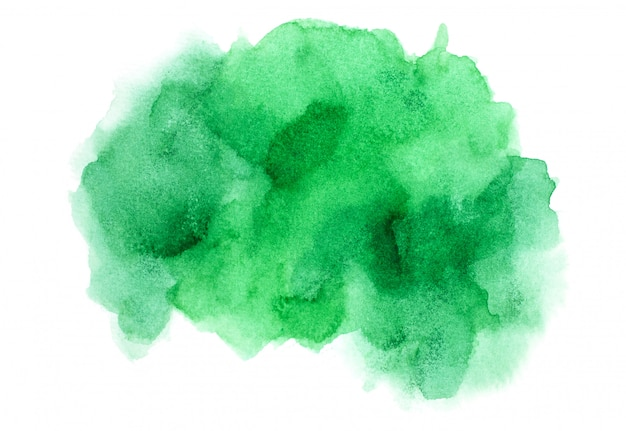 Green watercolor.image