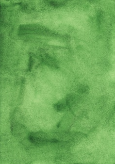 Green watercolor surface background
