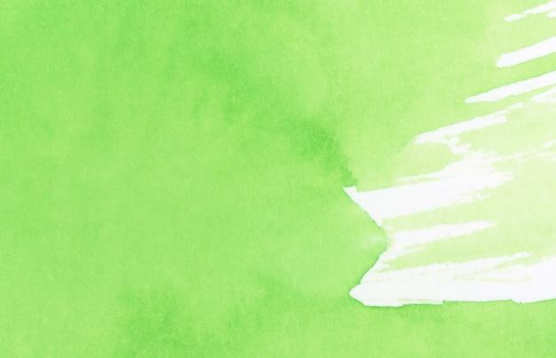 Зеленая акварель текстуры