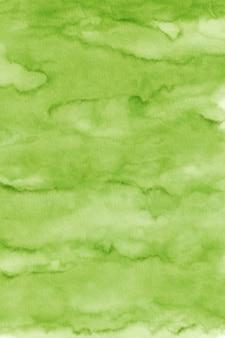 緑の水彩テクスチャ背景