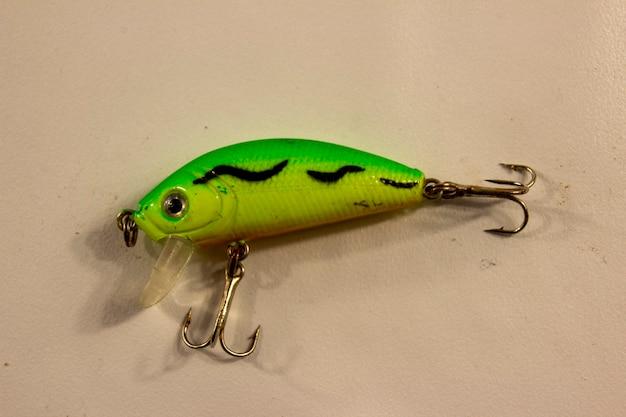 육식성 물고기를 위한 그린 워블러