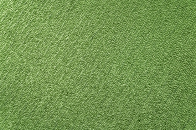 Green wrapping paper close-up. green textured background.