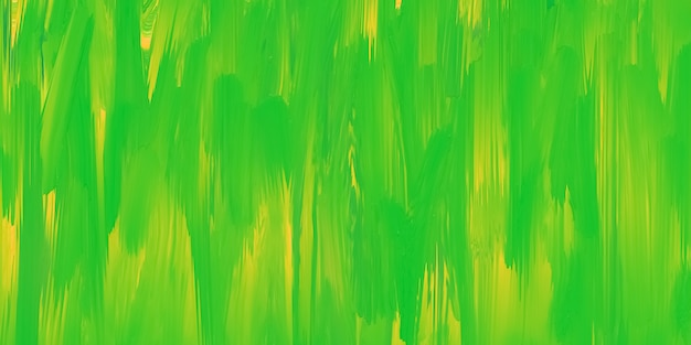Green and yellow painted texture, bright colorful paint background, spring colors, art fluid, pattern drawn effect. multicolor template. smeared ink, aquarelle on canvas.
