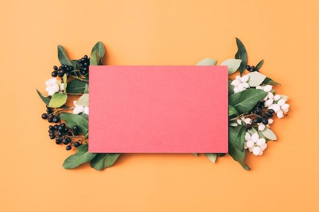 Открытка. особый случай. цветочная декоративная композиция.