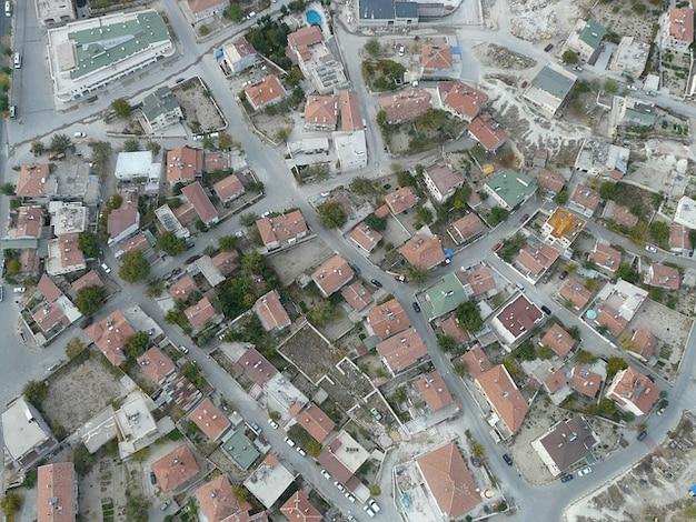 Родной город greme турции городской пейзаж каппадокии жить
