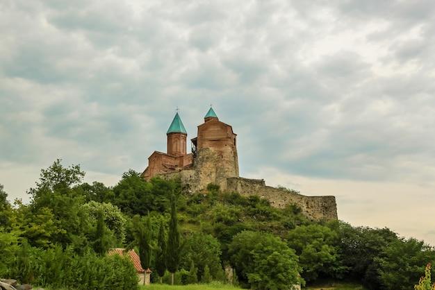 카케티의 역사적인 그루지야 지역에 있는 그레미 왕실 요새