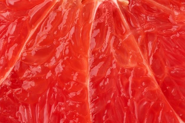 グレープフルーツパルプの背景